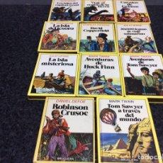 Libros de segunda mano: HISTORIAS INFANTILES BRUGUERA, LOTE 11 LIBROS -ED. BRUGUERA AÑOS 80. Lote 50429631
