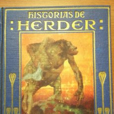 Libros de segunda mano: HISTORIAS JUAN GODOFREDO DE HERDER - COLECCION ARALUCE. LEONARDO PANIZO. 1942. Lote 102613632