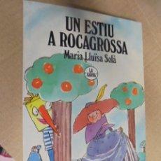 Libros de segunda mano: UN ESTIU A ROCAGROSSA - Mª LLUÏSA SOLÀ / GINESTA - XARXA Nº 2 - PER ESTRENAR DE BOTIGA - 1991. Lote 102736111