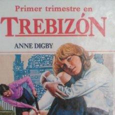 Libros de segunda mano: PRIMER TRIMESTRE EN TREBIZÓN. ANNE DIGBY. EDITORIAL MOLINO N° 1. AÑO 1983. CARTONÉ. PÁGINAS 152. PES. Lote 102776927