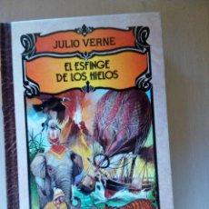 Libros de segunda mano: EL ESFINGE DE LOS HIELOS, DE JULIO VERNE, IBERLIBRO. Lote 103112959
