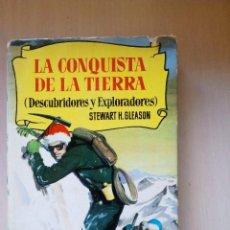 Libros de segunda mano: LA CONQUISTA DE LA TIERRA, DE JULIO VERNE, BRUGUERA (PRIMERA EDICIÓN). Lote 103113483