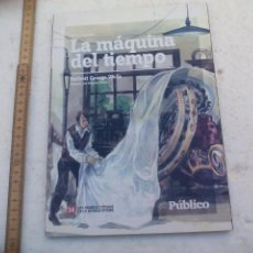 Libros de segunda mano: LA MÁQUINA DEL TIEMPO.HERBERT GEORGE WELLS EDICIÓN ABREVIADA. Nº 14.NOVELA JUVENIL PÚBLICO.2008. Lote 103338435