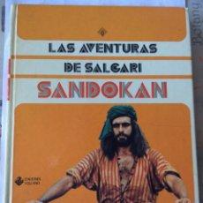 Libros de segunda mano: EMILIO SALGARI LAS AVENTURAS DE SANDOKAN EDICIONES VULCANO BILBAO 197. Lote 103711543