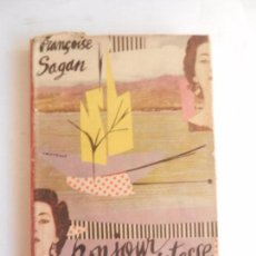 Libros de segunda mano: BONJOUR TRISTESSE FRANCOISE SAGAN ED. JOSÉ JANÉS 1954. SIN ILUSTRAR. . Lote 103992231