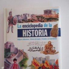 Libros de segunda mano: LA ENCICLOPEDIA DE LA HISTORIA, ANTIGUAS CIVILIZACIONES, EDITORIAL LIBSA, IMPECABLE, VER FOTOS LOTE. Lote 103998831