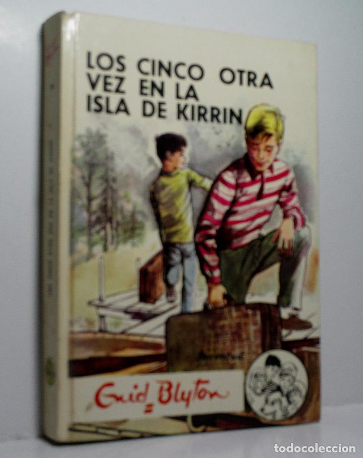 LOS CINCO OTRA VEZ EN LA ISLA DE KIRRIN. BLYTON ENID. 1979 (Libros de Segunda Mano - Literatura Infantil y Juvenil - Novela)