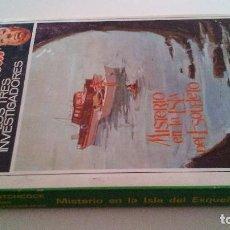 Libros de segunda mano: MISTERIO DE LA ISLA DEL ESQUELETO-Nº 6-ALFRED HITCHCOCK Y LOS TRES INVESTIGADORES-1968-SOBRECUBIERTA. Lote 295385998