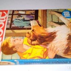 Libros de segunda mano: EL BOSQUE CANADIENSE-LASSIE-COLECCIÓN HÉROES. 1966. 2ª EDICIÓN EDITORIAL BRUGUERA Nº 22-CON SOBRECUB. Lote 105307355