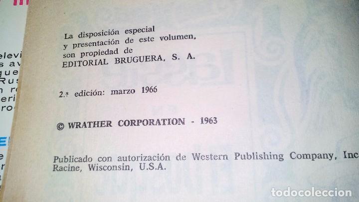 Libros de segunda mano: EL BOSQUE CANADIENSE-Lassie-Colección Héroes. 1966. 2ª Edición Editorial Bruguera nº 22-CON SOBRECUB - Foto 5 - 105307355