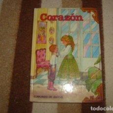 Libros de segunda mano: CORAZON , EDMUNDO DE AMICIS. Lote 105364759