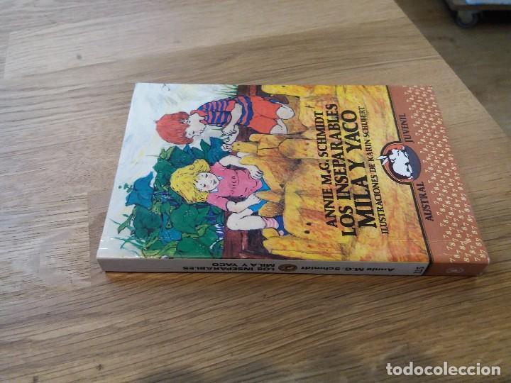 Libros de segunda mano: Los inseparables Mila y Yaco. M.G. Schmidt. Austral juvenil. N° 125. 1990. Espasa Calpe - Foto 2 - 105650183
