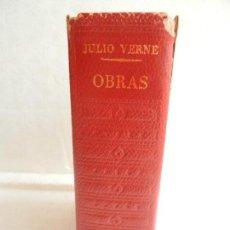 Libros de segunda mano: OBRAS DE JULIO VERNE TOMO III PLAZA & JANES 1968 LOS CLÁSICOS DEL SIGLO XIX . Lote 105692311