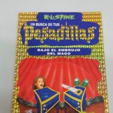 Libros de segunda mano: EN BUSCA DE TUS PESADILLAS Nº 7 : BAJO EL EMBRUJO DEL MAGO - R.L. STINE / EDICIONES B. Lote 106058919