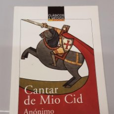 Libros de segunda mano: CANTAR DE MIO CID - CLASICOS A MEDIDA / ANAYA. Lote 106060943