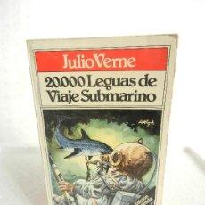 Libros de segunda mano: 20.000 LEGUAS DE VIAJE SUBMARINO JULIO VERNE TODOLIBRO BRUGUERA 1980. ILUSTRADO. . Lote 106789731