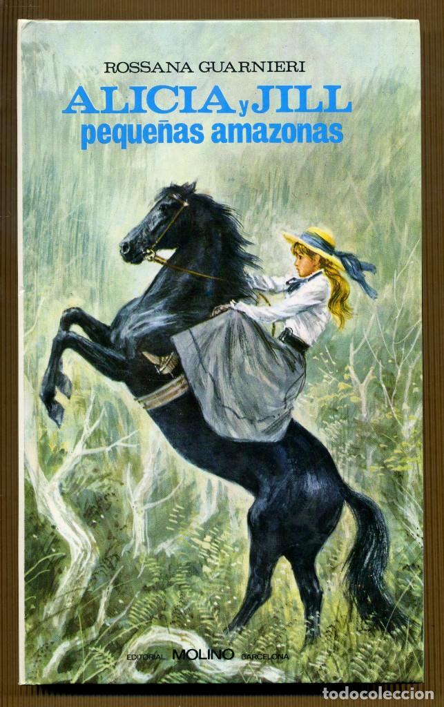 COLECCION VIOLETA Nº 6 - ALICIA Y JILL ROSSANA GUARNIERI (Libros de Segunda Mano - Literatura Infantil y Juvenil - Novela)