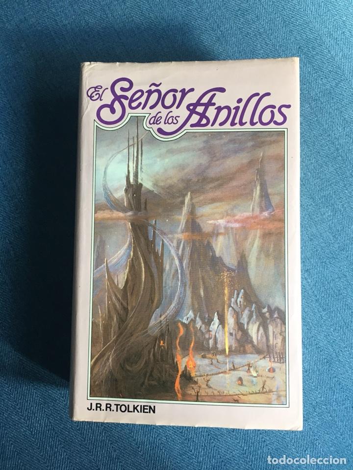 EL SEÑOR DE LOS ANILLOS-JJR TOLKIEN. ORIGINAL CÍRCULO DE LECTORES 1983 (Libros de Segunda Mano - Literatura Infantil y Juvenil - Novela)