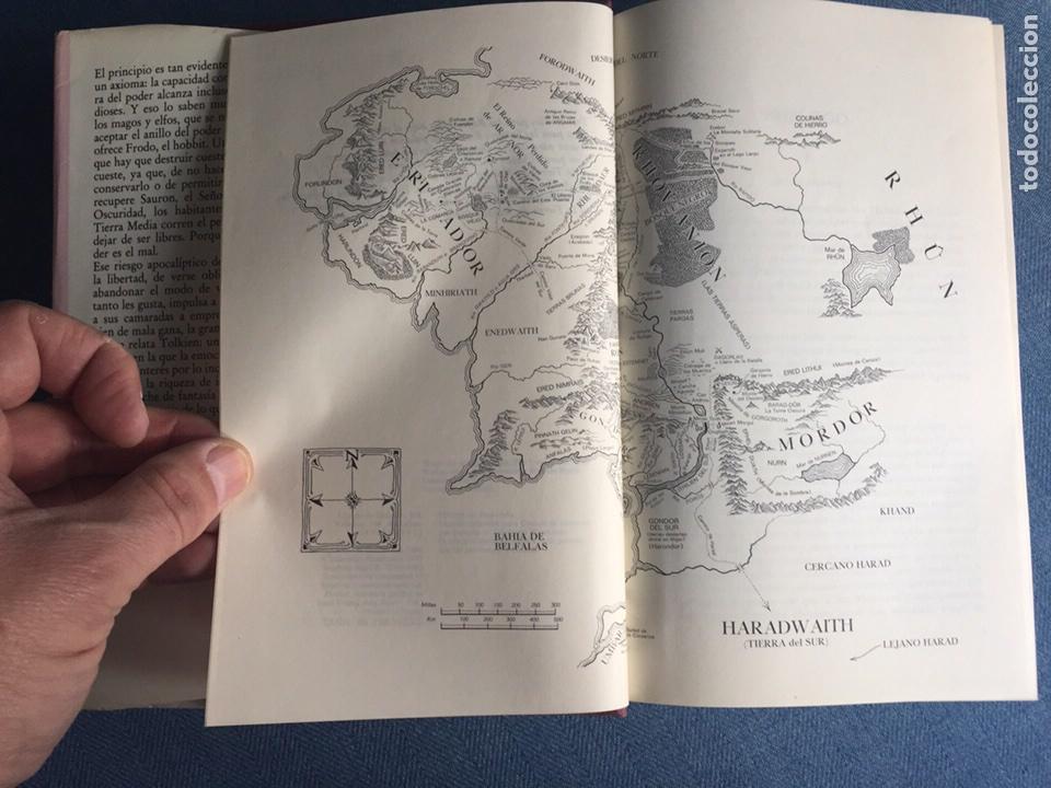 Libros de segunda mano: EL SEÑOR DE LOS ANILLOS-JJR TOLKIEN. ORIGINAL CÍRCULO DE LECTORES 1983 - Foto 3 - 109159116