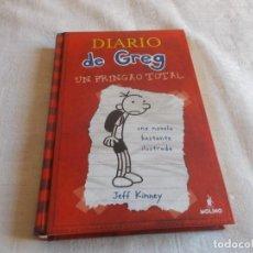 Libros de segunda mano: DIARIO DE GREG UN PRINGAO TOTAL . Lote 109391859