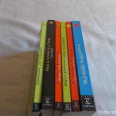 Libros de segunda mano: ESPASA JUVENIL 6 LIBROS. Lote 109393187