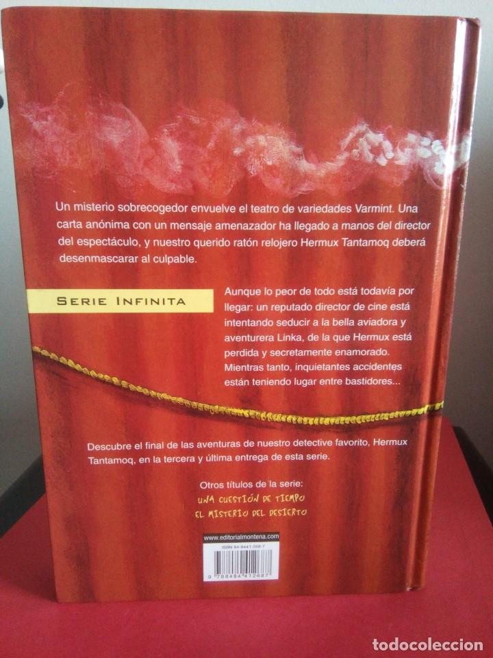 Libros de segunda mano: Intriga entre bastidores - Michael Hoeye - Montena 2005 - Serie Infinita - Buen estado - Foto 2 - 110059967