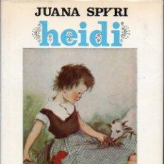 Libros de segunda mano: JUANA SPYRI : HEIDI (JUVENTUD, 1975) - LÁMINAS DE MERCEDES LLIMONA - FORMATO GRANDE. Lote 110611207