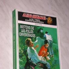 Libros de segunda mano: ALFRED HITCHCOCK Y LOS TRES INVESTIGADORES. NUEVA ETAPA Nº 2. MISTERIO DE LOS POLLOS ENVENENADOS. ++. Lote 110799935