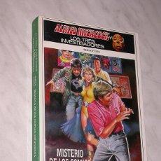 Libros de segunda mano: ALFRED HITCHCOCK Y LOS TRES INVESTIGADORES. NUEVA ETAPA Nº 4. MISTERIO DE LOS CÓMICS ESFUMADOS. +++. Lote 110800263