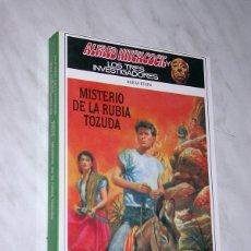 Libros de segunda mano: ALFRED HITCHCOCK Y LOS TRES INVESTIGADORES. NUEVA ETAPA Nº 5. MISTERIO DE LA RUBIA TOZUDA. +++. Lote 110800427