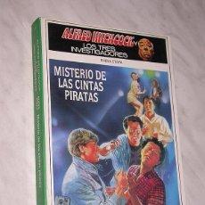 Libros de segunda mano: ALFRED HITCHCOCK Y LOS TRES INVESTIGADORES. NUEVA ETAPA Nº 7. MISTERIO DE LAS CINTAS PIRATAS. +++. Lote 110801003