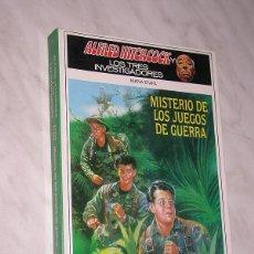 Libros de segunda mano: ALFRED HITCHCOCK Y LOS TRES INVESTIGADORES. NUEVA ETAPA Nº 8. MISTERIO DE LOS JUEGOS DE GUERRA. +++. Lote 110801231