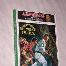 Libros de segunda mano: ALFRED HITCHCOCK Y LOS TRES INVESTIGADORES. NUEVA ETAPA Nº 9. MISTERIO DEL MUSICAL PELIGROSO. +++. Lote 110801487