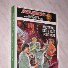 Libros de segunda mano: ALFRED HITCHCOCK Y LOS TRES INVESTIGADORES. NUEVA ETAPA Nº 11. MISTERIO DEL VIRUS INSIDIOSO. +++. Lote 110801679