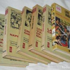 Libros de segunda mano: LOTAZO COLECCIÓN HISTORIAS SELECCIÓN - SERIE HISTORIA Y BIOGRAFÍA - BRUGUERA - AÑOS 60/70. Lote 110903895
