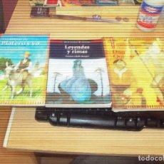 Libros de segunda mano: LOTE DE TRES LIBROS DE VICENS VIVES PARA JOVENES. Lote 111105223