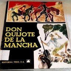 Libros de segunda mano: DON QUIJOTE DE LA MANCHA - EDITORIAL TEIDE 1970. Lote 111229619