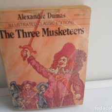 Libros de segunda mano: THE THREE MUSKETEERS MOBY BOOKS ALEXANDRE DUMAS . Lote 111530467