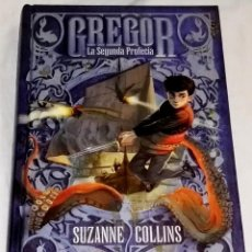 Libros de segunda mano: GREGOR LA SEGUNDA PROFECÍA; SUZANNE COLLINS - EDITORIAL MOLINO 2011. Lote 112232355