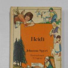 Libros de segunda mano: HEIDI. JOHANNA SPYRI. ILUSTRACIONES: T. UNGERER.- EDICIONES GENERALES ANAYA. TDK323. Lote 112338979
