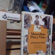 Libros de segunda mano: MARCELINO PAN Y VINO (ANAYA, 1ª EDICIÓN 1985 TAPA DURA). Lote 112615511