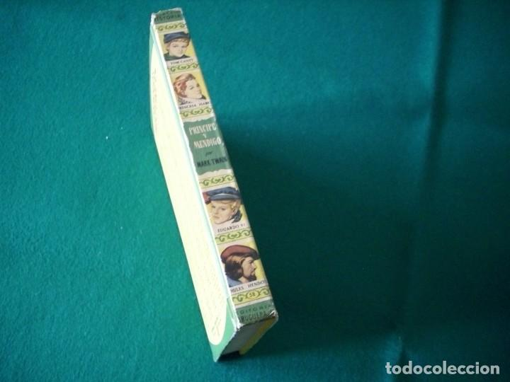 Libros de segunda mano: PRINCIPE Y MENDIGO - MARK TWAIN - EDITORIAL BRUGUERA S.A. AÑO 1959 - Foto 2 - 222734562