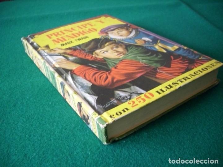 Libros de segunda mano: PRINCIPE Y MENDIGO - MARK TWAIN - EDITORIAL BRUGUERA S.A. AÑO 1959 - Foto 3 - 222734562