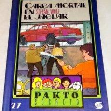 Libros de segunda mano: CARGA MORTAL EN EL JAGUAR; STEFAN WOLF - SUSAETA 1993. Lote 113153471