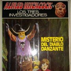 Libros de segunda mano: MISTERIO DEL DIABLO DANZANTE. ALFRED HITCHCOCK Y LOS TRES INVESTIGADORES. N° 26. EDITORIAL MOLINO. A. Lote 113175972