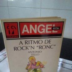 Libros de segunda mano: 70-A RITMO DE ROCK & RONC, ANTONIO TELLO, PLAZA JOVEN, 1991. Lote 113367415