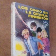Libros de segunda mano: LOS CINCO EN LA GRANJA FINNISTON (ENID BLYTON) JUVENTUD - CARTONE - OFM15. Lote 113591771