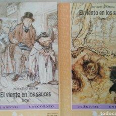 Libros de segunda mano: KENNET GRAHAME EL VIENTO EN LOS SAUCES (2 VOLS). Lote 113609091