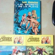 Libros de segunda mano: 3 NUMEROS DE LIBROS HISTORIAS ILUSTRADAS-LOS GEMELOS-DE L. LEE HOPER.1ª EDICION 1972.ISLA Y 2ª EDIC . Lote 113715911