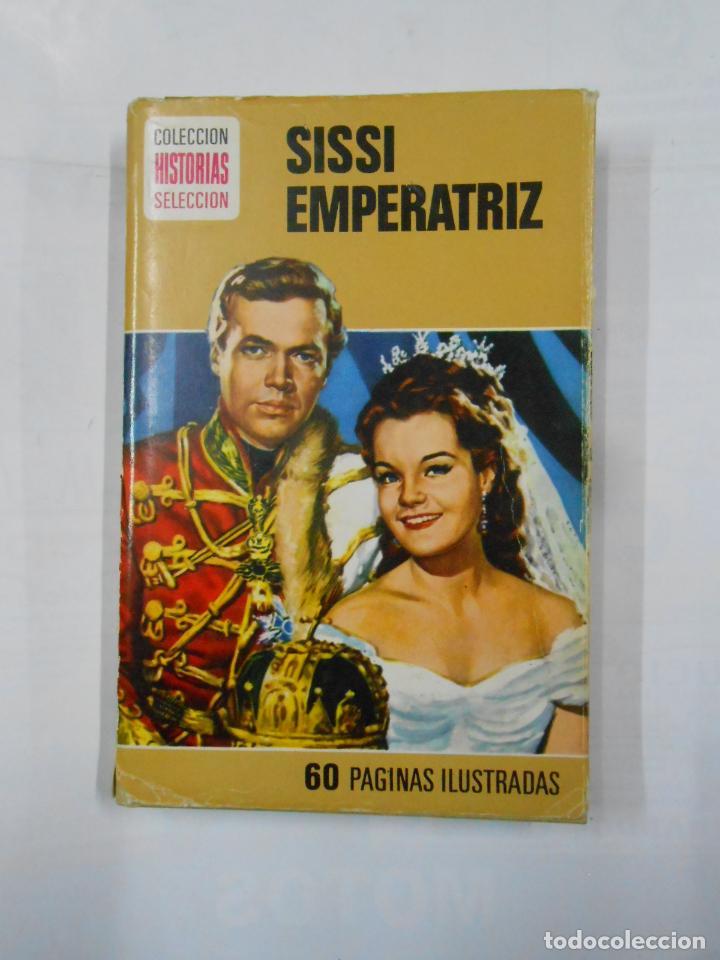 SISSI EMPERATRIZ. COLECCION HISTORIAS SELECCION. Nº 2. EDITORIAL BRUGUERA. TDK119 (Libros de Segunda Mano - Literatura Infantil y Juvenil - Novela)